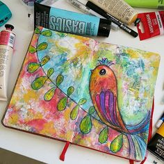 Art Journal Pages …