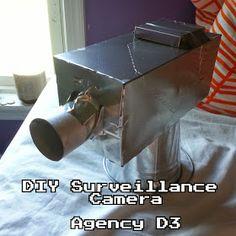 The Saylors: Agency D3 | VBS 2014 Spy Camera Decoration DIY