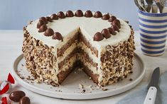 Chocolate Candy Cake, Chocolate Bonbon, Chocolate Desserts, Baking Recipes, Cake Recipes, Dessert Recipes, Mascarpone Recipes, Mascarpone Creme, Biscuits