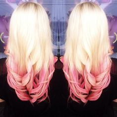 Strawberries and cream | Hair | Pinterest | Ombre, Pink and Blondes