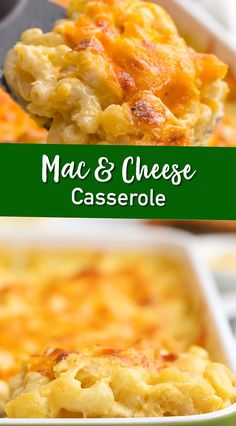 Casserole is perfect for all occasions. With thick and creamy cheese sauce and a topping made of...you guessed itcheese it is sure to be a hit. Mac And Cheese Casserole, Best Macaroni And Cheese, Macaroni Cheese Recipes, Mac And Cheese Homemade, Casserole Recipes, Crockpot Recipes, Mac And Cheese Recipe With Cottage Cheese, Mac N Cheese Bake, Simple Mac And Cheese