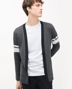 Image 2 of KNITTED CARDIGAN from Zara