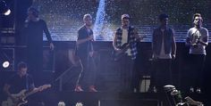 The boys on stage in Colombia today..............25.04.14.....1st day of the WWA tour