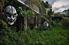 Encore's Garden.  An abandoned amusement park in Taiwan. When I mention the name the Taiwanese tell me about horror stories of people being killed there and a girl in a red dress. Truth is an earthquake happened and it never reopened.