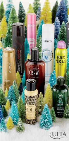 For locks she'll love throughout the holiday season and beyond, gift her hair products from Ulta Beauty!