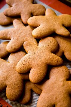 Gingerbread Cookies beat butter till creamy mixed in the spices with the sugar next time spray cup before measuring out molasses.  flatten before fridge  Cook time 8mins, rotate at 4