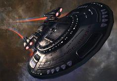 USS Stargazer NCC - 2893- A