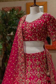 Bridal Lehenga Choli, Saree Wedding, Indian Dresses Online, Sherwani, Bell Sleeve Top, Bell Sleeves, Festival Wear, Gowns, Crop Tops