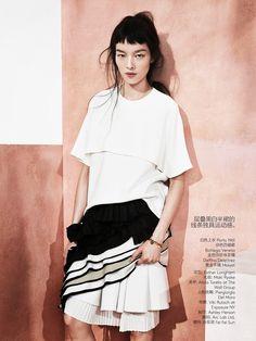 visual optimism; fashion editorials, shows, campaigns & more!: modern romance: fei fei sun by sharif hamza for vogue china may 2014