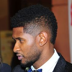 Marvelous Usher Hairstyles