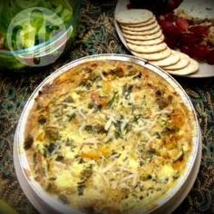 Vegetarian quiche @ allrecipes.co.uk