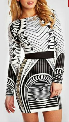 Vestido lineas