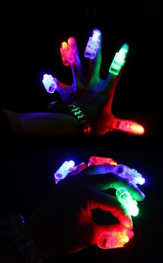 12 ct. LED Finger Lights, Mini Party, Balloon, Floral Lights by FliesintheButtermilk on Etsy