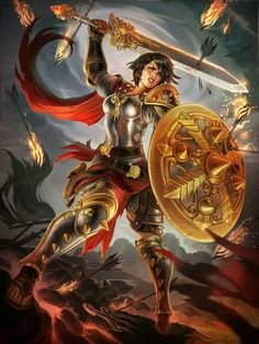 Roman: Bellona, Goddess of War