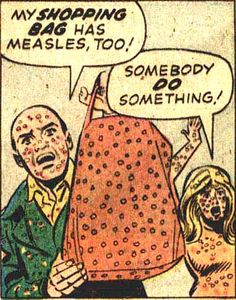 Measles have been on the outbreak for children and have been killing them more commonly after they had the infection. (current epidemiological topic)