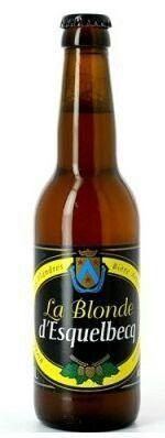 La #Blonde d'Esquelbecq #Brasserie #Thiriez // 6.5/10 // #Bière #Artisanale des #Flandres