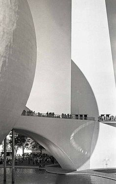 Abstracted Perisphere. Taken by the New York World's Fair photographer