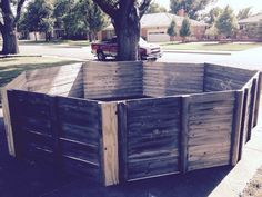 Picture of Portable Gaga Pit From Repurposed Fence