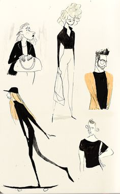 In the morning, theses days, i got a very long ride in the parisian subway, and i happen to have a sketchbook every morning so…Here's more or less accurate sketches of this morning sulking stylish. Character Drawing, Character Illustration, Character Concept, Concept Art, Illustration Art, People Illustration, Sketch Inspiration, Character Design Inspiration, Drawing Sketches