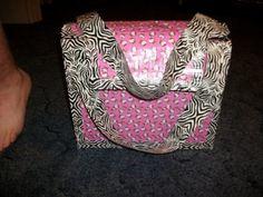 Hello Kitty duck tape bag!