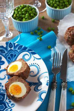 Jajka po Szkocku na Wielkanoc