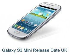 Reviews of the S3 Mini has not been up to the mark as some suggest it is not a smaller version of the S3 as the name suggests. A 480 x 800 pixel screen, 5 Megapixel camera and a 1 GHz processor may not be worth all the money spent.    Find out more information on Galaxy S3 Mini Release Date UK @ http://www.mobilesandtablets.co.uk/samsung-galaxy-s3-mini-release-date-uk-revealed/