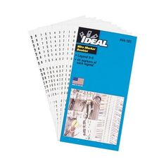 Ideal 44-104 Wire Marker Booklets-Legend-46-90 10 each) by Ideal. $10.52. 44-104 Ideal Industries Wire Marker Booklets Legend: 46-90 (10 each)