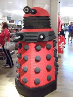 Character Building Dalek (not for sale unfortunately) At John Lewis during the Olympics now at the Doctor Who Experience in Cardiff
