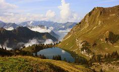 der Gaisalpsee bei #Oberstdorf im #Allgäu