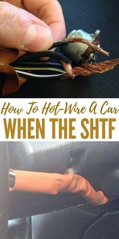 How To Hot-Wire A Car When The SHTF - The ability to hot wire and essentially steal a car falls into the same category as picking locks. survival tips Urban Survival, Survival Food, Homestead Survival, Wilderness Survival, Outdoor Survival, Survival Prepping, Survival Skills, Survival Hacks, Survival Supplies