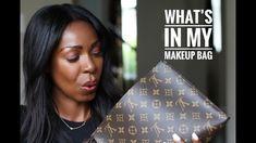 What's In My Makeup Bag | Style Domination by Dominique Baker - Hope you enjoy my makeup favourites! #makeupforblackwomen #makeup #beautypicks #makeupfaves #beccachocolategeode #louisvuitton