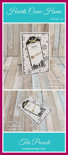 Hearts Come Home by Stampin Up. Created by UK Independent Demonstrator Teri Pocock. Click through for more details.#teripocock #stampinup #stampinupuk #heartscomehome