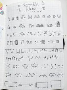 "tbhstudying:"" i was really bored, so i doodled a bit in my bullet journal.insp tbhstudying: ""Ich war total gelangweilt, also habe ich ein bisschen in mein Bullet Journal gekritzelt. Bullet Journal Inspo, My Journal, Journal Pages, Journals, Journal Ideas, Bullet Journal Doodles Ideas, How To Start A Bullet Journal, Bullet Journal Titles, Bullet Journal Minimalist"
