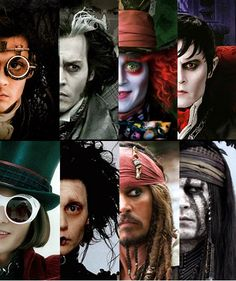 Winner of a Golden Globe and Screen Actors Guild for Best Actor. This is my fan letter to Johnny Depp. I've appreciated his talents for 25 years and I thought I'd tell him so. Johnny Depp Characters, Johnny Depp Movies, 7 Arts, Jonny Deep, Here's Johnny, The Lone Ranger, Edward Scissorhands, Many Faces, Actors