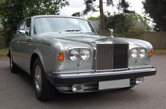 1980 V Rolls Royce Silver Shadow Series II. Finished in Shell Grey with Silverstone interior piped in Charcoal with Walnut picnic tables. Only 28,000 miles with a full and complete history including letters from previous owners and all old MOTs. This car is in truly outstanding condition and very original throughout. Outstanding value £28.950 Full Details: http://hanwells.net/rolls-royce-select/rolls-royce-silver-shadow/1980-v-rolls-royce-silver-shadow-series-ii-in-shell-grey-28-950