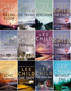 I love the Jack Reacher books