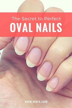 Ever wanted perfect, oval-shaped nails? This nail tutorial shows you how to file and maintain your nails for the most appealing shape ever.