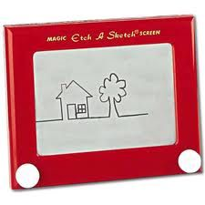 Retro Toys - etch a sketch