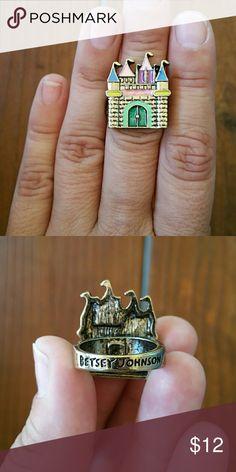 Spotted while shopping on Poshmark: NWOT Sweet Castle Ring! #poshmark #fashion #shopping #style #Betsey Johnson #Jewelry