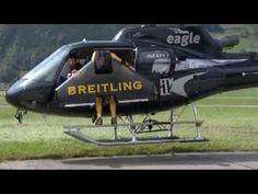 Breitling DC-3 Passengers Observe Jetman Yves Rossy in Full Flight - Luxurious Magazine