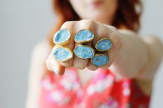 Fall For DIY | Enamelled Rings | Fall For DIY