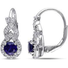 http://rubies.work/0887-sapphire-pendant/ T.G.W. Teardrop Sapphire Earrings-One Size,