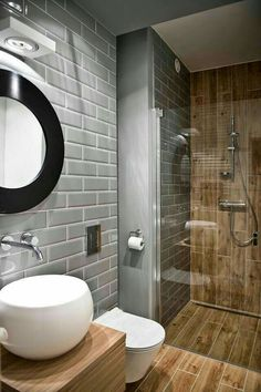 Modern Bathroom Ideas for Small Bathrooms Elegant Walk In Shower In A Small Bathroom – Design Ideas for Bathroom Toilets, Bathroom Renos, Basement Bathroom, Bathroom Interior, Bathroom Modern, Masculine Bathroom, Bathroom Renovations, Remodel Bathroom, Bathroom Layout