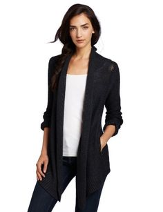 HALSTON HERITAGE Women's Collier Long Sleeve Cardigan | Traveling Of Life