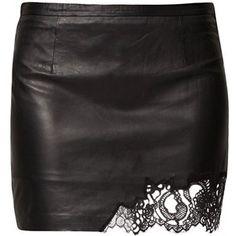 Patrizia Pepe Leather skirt