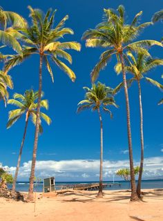 Lanai beaches are never crowded since there is just one small town on the entire island – #Lanai City