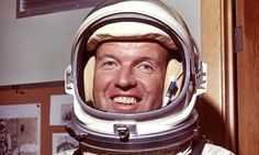 Major Gordon Cooper is the first American astronaut to take a nap in space and the last one to take part in a solo orbital mission