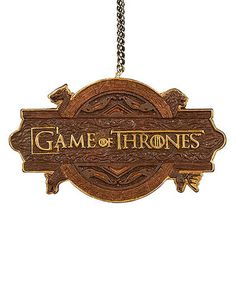 Loving this Game of Thrones Logo Ornament on #zulily! #zulilyfinds
