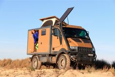 Bremach T-REX for desert expedition