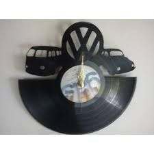 relojes en discos de vinilo - Buscar con Google